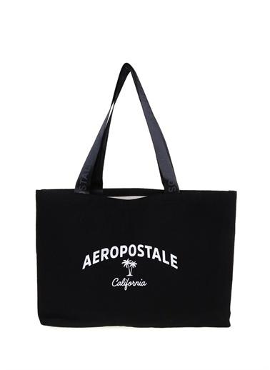 Aeropostale Aeropostale Plaj Çantası Siyah